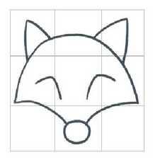 狐狸图片_学习简笔画